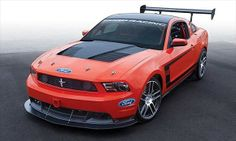 2011 Mustang Boss 302S (© Ford Motor Company)