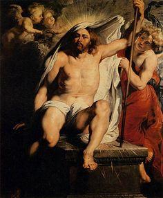 RESURRECTED CHRIST BY PETER PAUL RUBENS