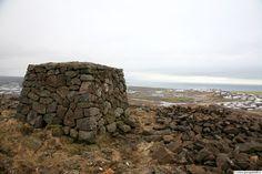 Ásfjall, Ásfjallsvarða og Hafnarfjörður