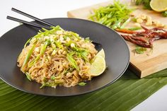 This miraculous Pad Thai is vegan, gluten-free, and just 200 calories for a giant serving. The traditional Thai flavors come together in under 40 minutes.