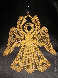 Поделка изделие Плетение на коклюшках Мои плетушки Нитки фото 4