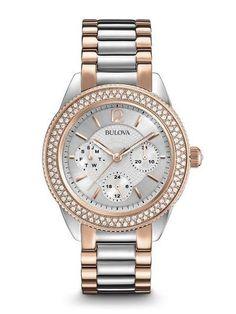 da601c421cbd 98N100 Women s Crystal Watch Bulova Watches