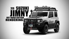 2018 Suzuki Jimny Off Road Edition Render