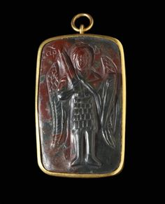 Archangel Michael with St. Byzantine Gold, Byzantine Icons, Constantine The Great, Greek Jewelry, Early Christian, Archangel Michael, Orthodox Icons, Ancient Jewelry, Dark Ages
