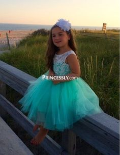 Customer picture for Ivory Lace Blush Pink Tulle Flower Girl Dress