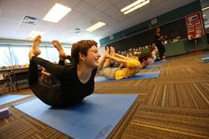 New Study Shows Yoga Has Healing Powers http://news.nationalgeographic.com/news/2014/02/140207-yoga-cancer-inflammation-stress/?utm_content=buffer27df5&utm_medium=social&utm_source=twitter.com&utm_campaign=buffer    Poses like down dog can bring down levels of inflammation in cancer patients.  Yoga practitioners, like these students in the bow posture, could experience reduced stress and better sleep.
