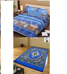 Combo of IWS Double Bedsheet & Carpet @ Rs 699