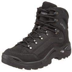 Lowa Men's Renegade GTX Mid Hiking Boot,Black/Black,10.5 M US - http://authenticboots.com/lowa-mens-renegade-gtx-mid-hiking-bootblackblack10-5-m-us/