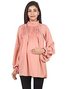 c2609a6e44f18 62 Best Maternity clothes/nina s images | Maternity tops, Blouse ...