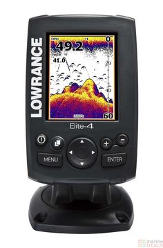 Jays V-Day gift. He has no clue!!! :D.  Lowrance Elite 4 GPS Chartplotter Fish Finder Combo