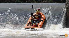 Water rafting cimandiri river