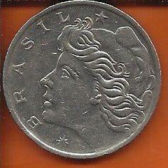 Encontre Moeda 1 Cruzeiro 1970 Niquel no Mercado Livre Brasil. Descubra a  melhor forma de comprar online. 1f4ed14492427