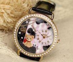 Mini world fashion watch