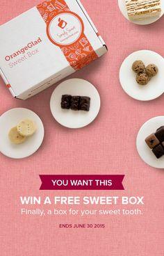 Free Dessert Monthly Box! MMMMmm :D