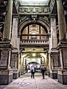 East entrance, Philadelphia City Hall