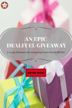 An Epic DealFuel Giveaway