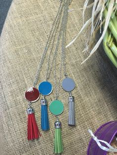 Tassel necklace.. $9.95