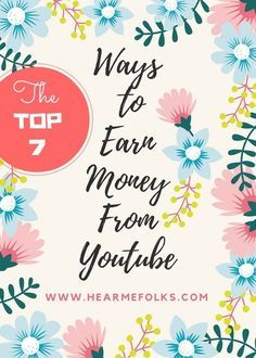 Don't let Adsense be your only source of income.Checkout these Seven Proven Ways to earn money from YouTube videos. hearmefolks.com/...