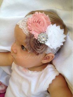Fascia del bambino bambino fascia bianco di SummerJadeBoutique
