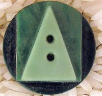 Deco button ....  Casein & Galalith, Art Deco Plastic from Milk, Collectable Jewelry & Buttons.