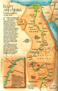 Ancient Civilizations Map Projects Map Projects Civilization - Map of egypt nubia
