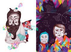 What Is The Secret, Cute Fox, Surrealism, Illustrator, Owl, Eyes, Drawings, Blog, Animals