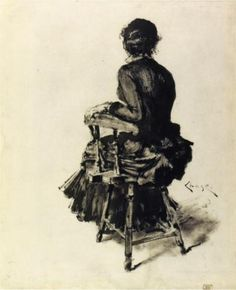 Figure Study (I) - William Merritt Chase