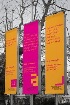 Wim Crouwel Exhibition on Behance