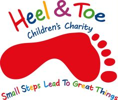 """Here is a powerful logo for a children's charity. What i like about this logo is the Colours that are used, the Colours are bright and they are playful. The slogan """"small steps lead to great things"""" is a great slogan to use for this particular charity because it reminds me of when a baby takes there first steps because it shows there growth and they eventually grow to do bigger and better things."""