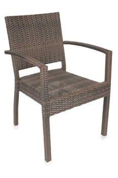 Rattan chair pub bar outdoor