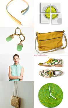Brown and green by Talila on Etsy--Pinned with TreasuryPin.com