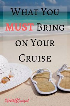 What you really need to bring on your cruise. A simple and practical list of essential cruise packing items. #LifeWellCruised #cruisepackinglist #cruisetips #cruise