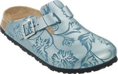 Papillio clogs Boston from Suede in Silk Flowers Turquoise with a narrow insole size 35.0 N EU Papillio. $87.69. suede. Save 10%!