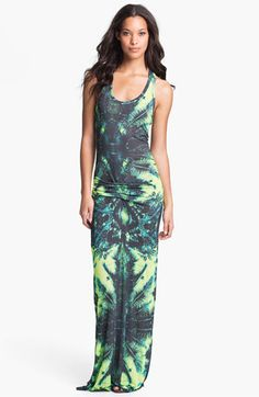 Young, Fabulous & Broke 'Hamptons' Print Racerback Maxi Dress available at #Nordstrom
