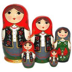 Poupées russes Petite histoire -> Déclinaison des Kokeshis