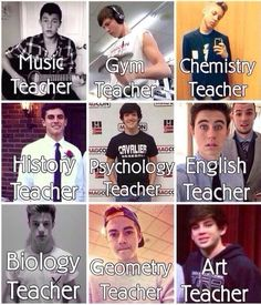 I wish they were my teachers at school I would acc be so much more happy and motivated to go: