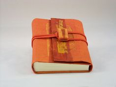 quaderno arancione by Kucita #italiasmartteam #etsy