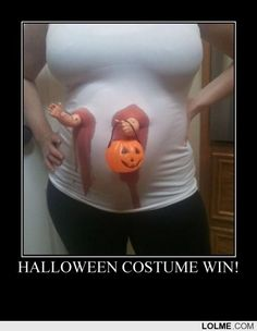 I will plan my pregnancy around Halloween just for this costume...