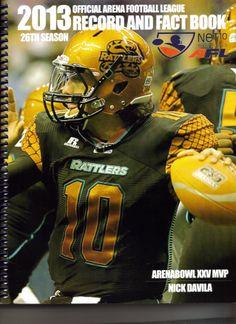 vintage team Yearbook 1998 Orlando Predators Arena Football League