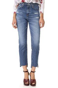 NYFW Street Style: Mom Jeans