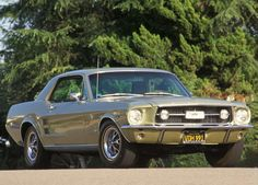 1967 Ford Mustang  I had one just like this, same color and all.  Wish I'd never sold it.