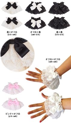 acc1031 - Wirstcuffs - LOLITA $6.16 5 colors available