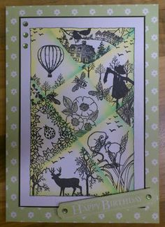 Cards made using Clarity Stamps by Jane Telford