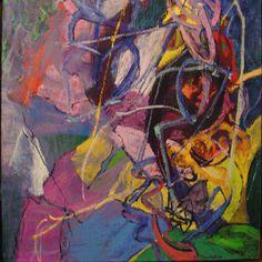 "Amaranth Ehrenhalt,  Juni, series of 12, 1998,  Oil on canvas, 39"" x 39"""