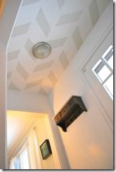 Remodelaholic | Striped Wall Reveal