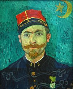 Vincent van Gogh, The lover (portrait of Lieutenant Milliet) | by f_snarfel