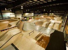 Rye Airfield Indoor Skate Park
