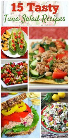 15 Tasty Tuna Salad Recipes