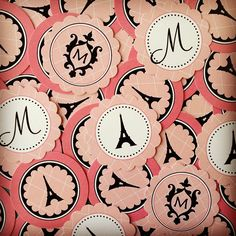 Festa personalizada tema PARIS, by Party Print.