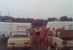 """Mit Wartburg und Lada: Campingplatz im Rheinsbergerland, ca. 1980: """"… Urlaub ist vorbei""""  Zitat und Bild: Kerstin Ihlenfeldt http://autostolz.formfreu.de/2014/05/15/urlaub-ist-vorbei/"""